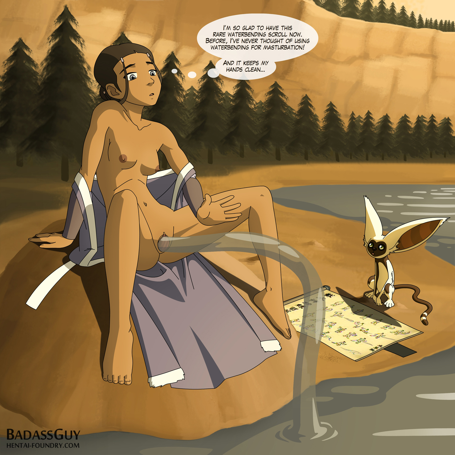 last avatar nudes airbender the Princess and the frog nude