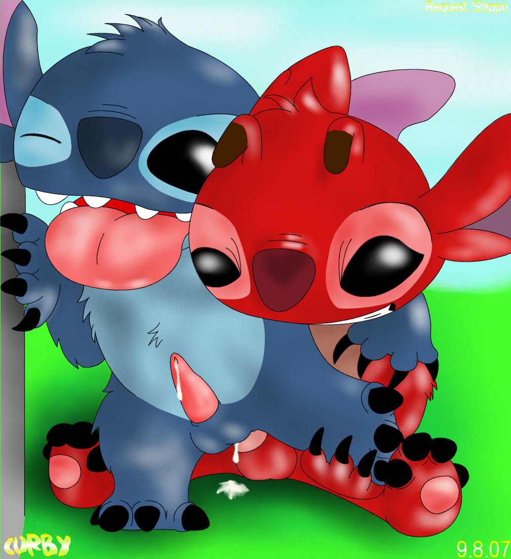 stitch and dip double lilo We both got buckets of chicken wanna do it