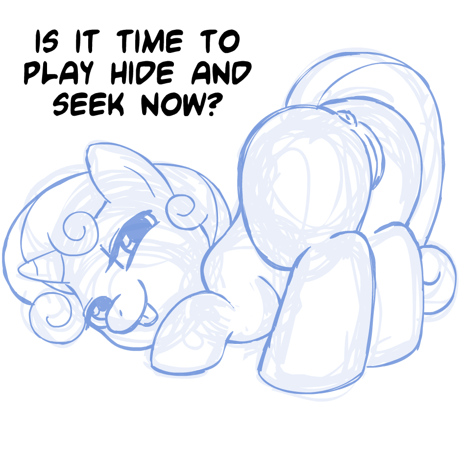 button mash x sweetie belle You nappa you get slappa