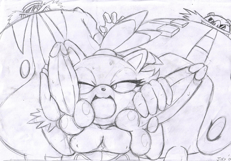 50/50 dr robotnik The bagel and becky show