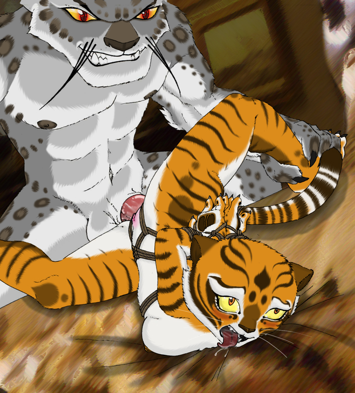 tiger panda is po fanfiction a kung fu Judgement boy gregory horror show