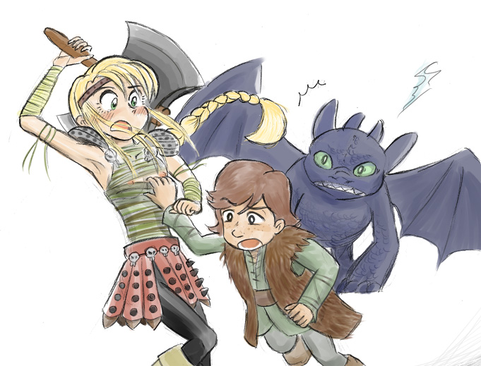 and your how hiccup dragon sex astrid train to Viola zone of the enders