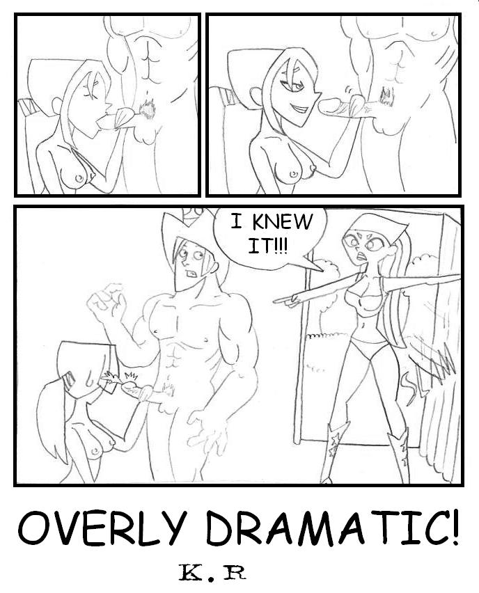 revenge the island drama of hentai total Mighty the armadillo and honey the cat