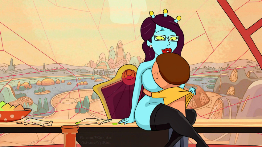rick nude morty and smith summer Goku x android 21 fanfiction