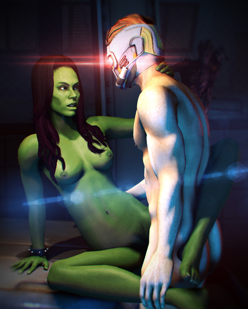 of guardians gamora the galaxy naked How to hack tabby cat