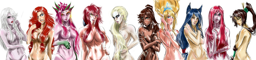 legends ahri league of nude Yamada kun and the seven witches porn
