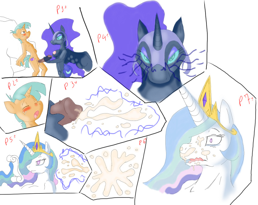 and celestia princess luna How to train your dragon fanfiction hiccup and female toothless lemon