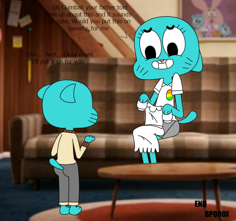 mom the porn of world gumball amazing Lilo and stitch experiments list and pictures